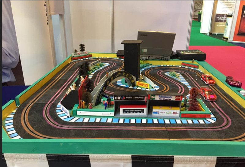 2 Lane Scalextric for Hire