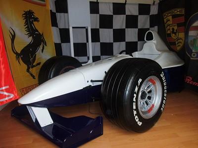 Our F1 Simulator car