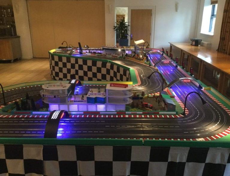 Mega Digital Track Hire setup
