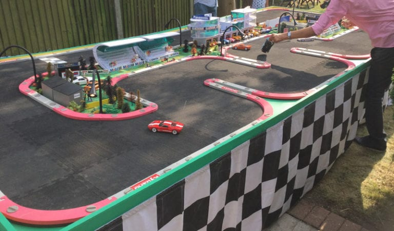 rc race track hire